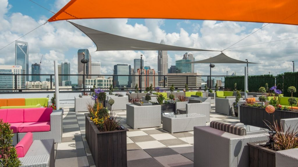 11. City Lights Rooftop - Things to do in Charlotte NC