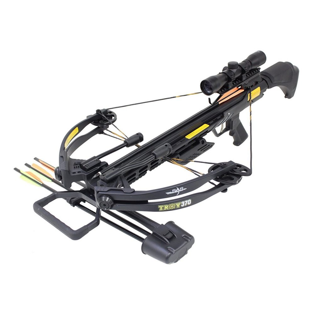 14. SAS Troy 370 Compound Crossbow - Crossbow Reviews