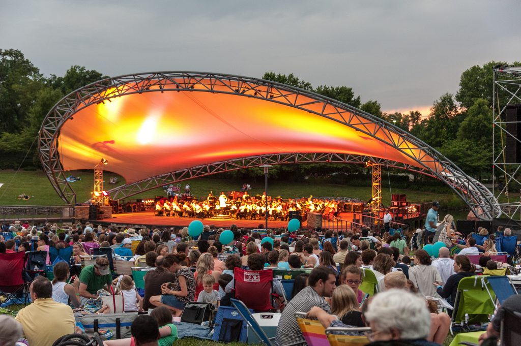 14. Symphony Park - Things to do in Charlotte NC