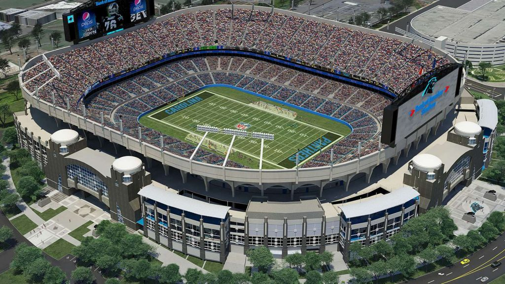 15. Bank of America Stadium - Things to do in Charlotte NC