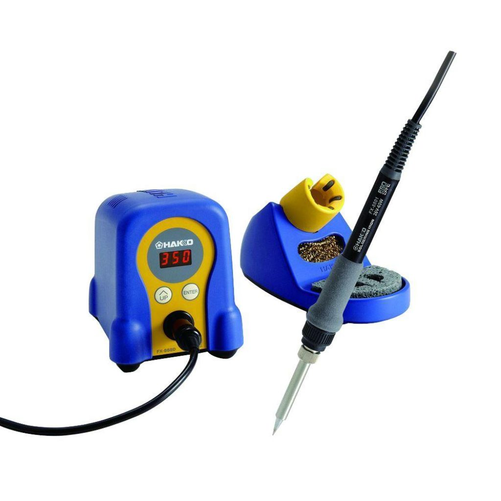 3. Hakko FX888D-23BY Digital Soldering Station FX-888D FX-888 - Best Soldering Iron
