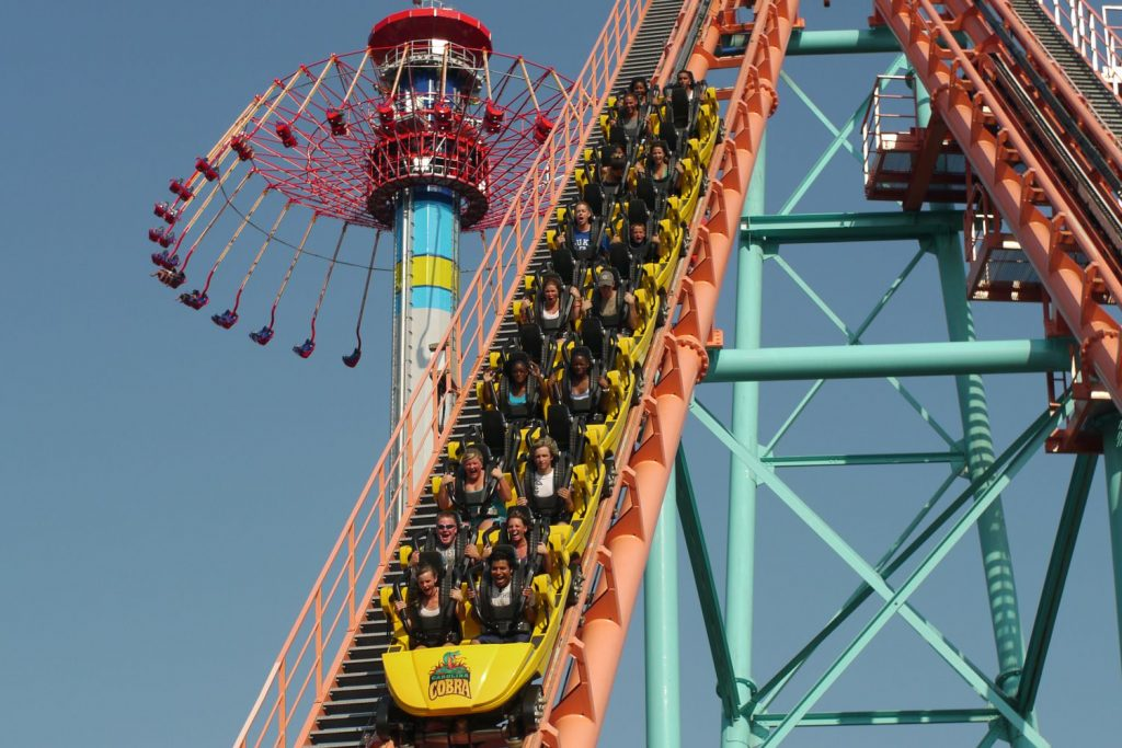 4. Carowinds - Things to do in Charlotte NC