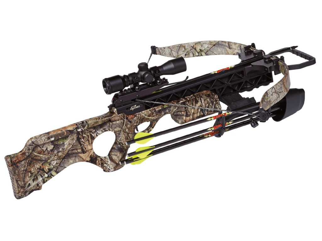 6. Excalibur Null Matrix SMF Grizzly Crossbow - Crossbow Reviews