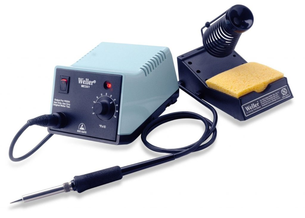 6. Weller WES51 Analog Soldering Station - Best Soldering Iron