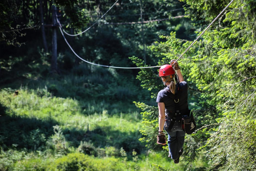 9. Zip lining - Things to do in San Juan Puerto Rico