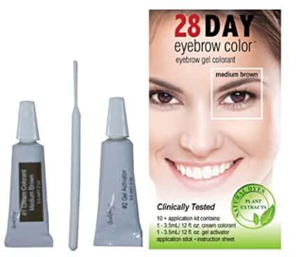 28 Day Color Eyebrow Gel Colorant