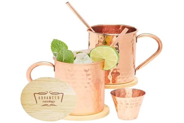 Best Copper Mule Mugs - Advanced Mixology Moscow