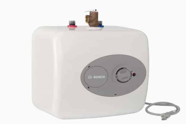 Best Electric Water Heater - Bosch Tronic 4-Gallon 6-Year Lowboy