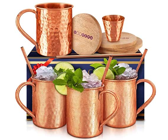 Bulk Apothecary Copper Moscow Mule Mug