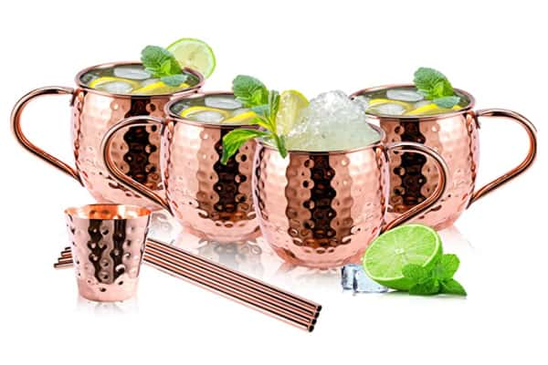 Best Copper Mule Mugs - Cattorie Solid Moscow
