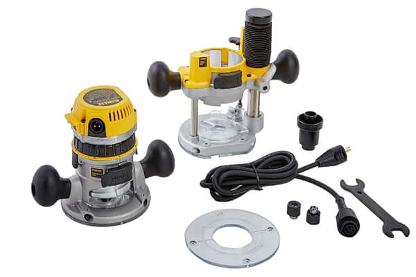 DEWALT 12-AMP Wood Router Kit DW618PK