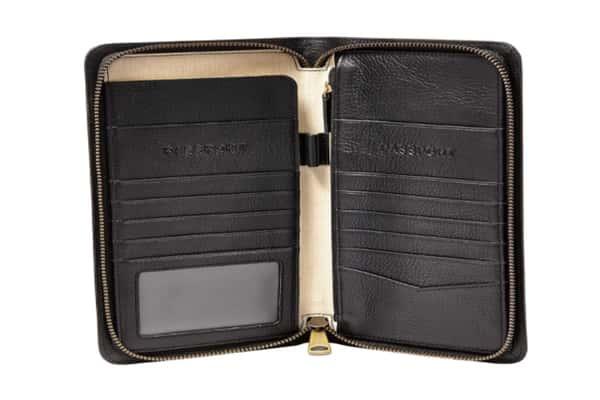 Best Passport Holder - Fossil Leather Zip