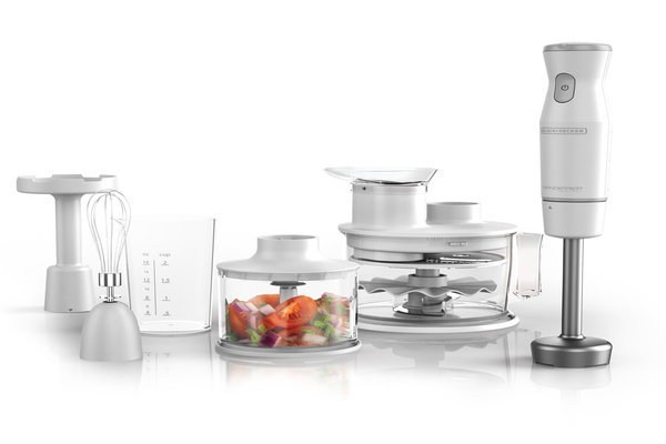 Immersion Hand Blender and Food Processor