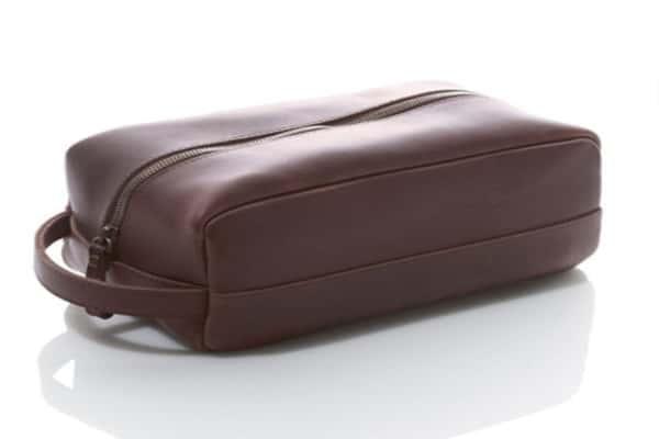 LL Bean Signature Leather Dopp Kit