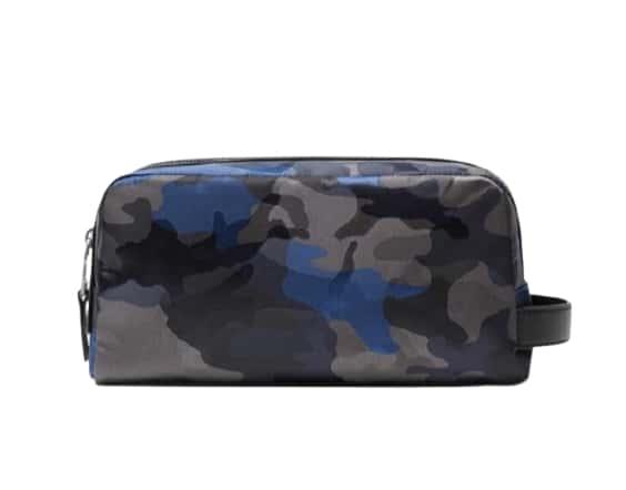 Michael Kors Kent Camouflage Nylon Travel Case