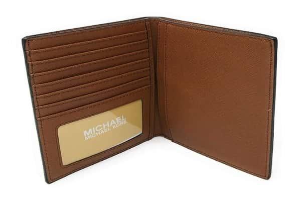 Michael Kors Leather Passport Wallet