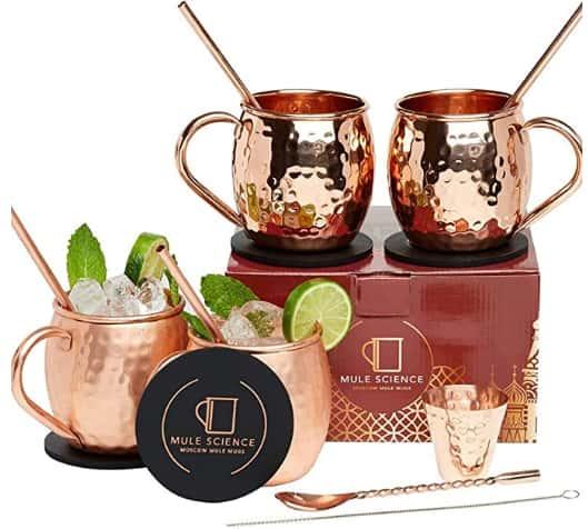 Mule of Moscow Copper Mug Gift Set