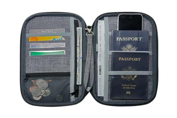 NeatPack RFID Travel Wallet