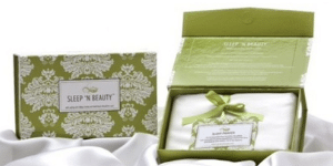 Sleep 'N Beauty Silk Pillowcase