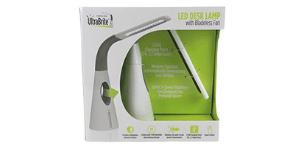 Ultra Brite – LED Desk Lamp with Bladeless fan