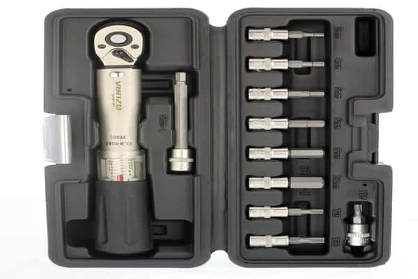 Venzo Bicycle Torque Wrench Allen Key Tool Socket Set Kit