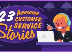 23 Awesome Customer Service Stories (Infographic)