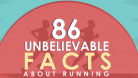 86 Unbelievable Facts About Running (Infographic)
